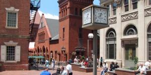 Lancaster city Penn Square