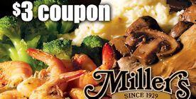Miller's $3 Coupon