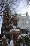 Linden Hall Sign - Snow