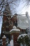 Linden Hall Sign - Snow