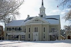 Moravian Church - Snow