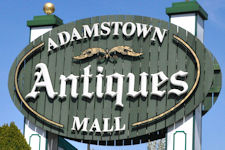 Adamstown Antiques Mall sign