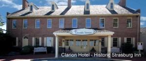 Clarion Historic Strasburg Inn