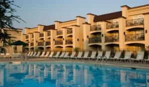 Eden Resort Inn outdoor pool