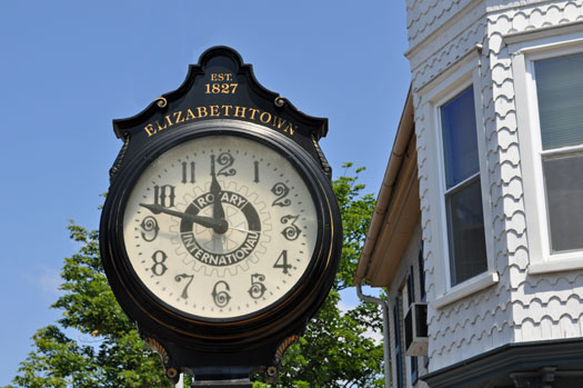 Elizabethtown Rotary Clock