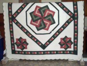 Smucker's Diamond Star quilt