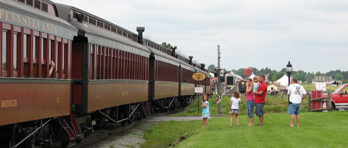 Lancaster PA Railroad Attractions - Lancaster County, PA