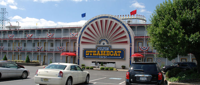 Fulton Steamboat Inn Sleep On A