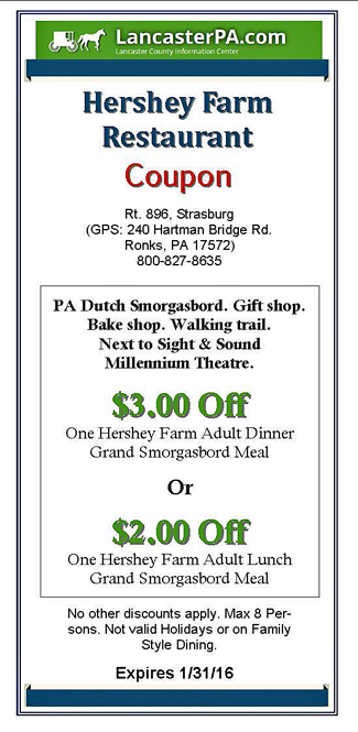 Lancaster pa restaurant coupons