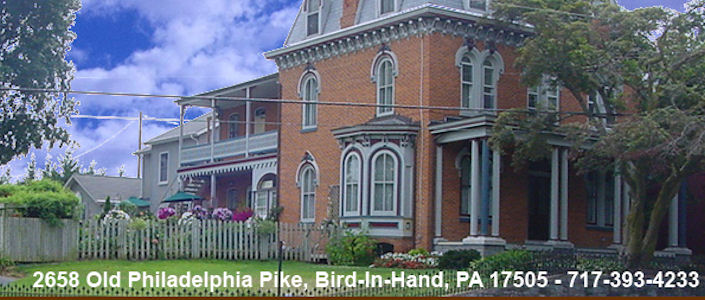 Greystone Manor Bed And Breakfast Bird In Hand Pa