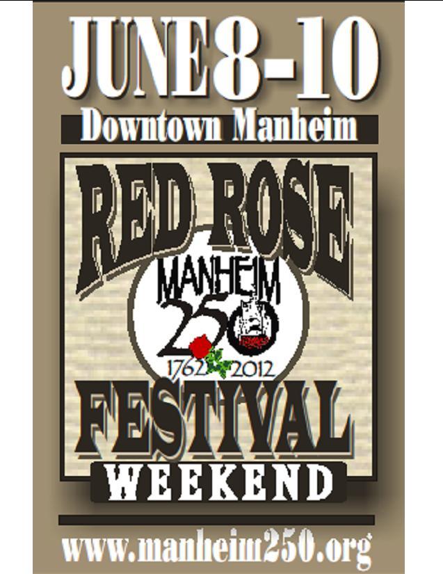 Manheim Red Rose Festival
