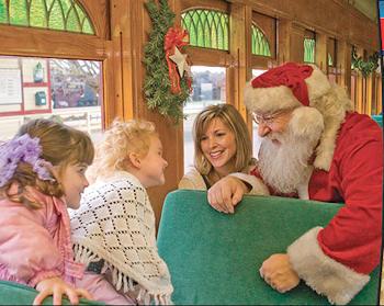 Santa at Strasburg Rail Road
