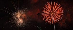 Fireworks at Longs Park