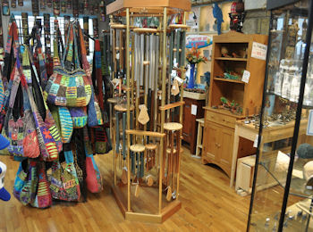 Totes and wind chimes