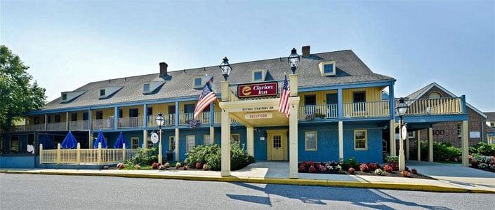 Clarion Inn Historic Strasburg Hotel In Pa