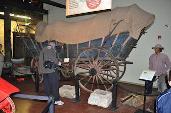 Conestoga Wagon at Landis Valley Museum