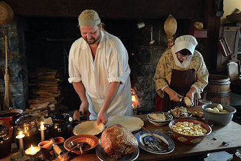 Landis Valley Museum cooking demonstration
