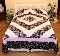 Village Quilts - Log Cabin quilt