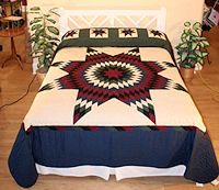 Village Quilts - Lone Star quilt