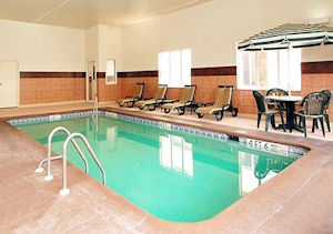 Sleep Inn & Suites pool