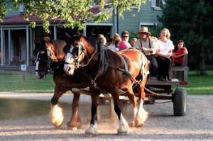 Landis Valley Museum wagon ride