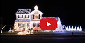 Outdoor Christmas Lights Displays In and Around Lancaster County, PA