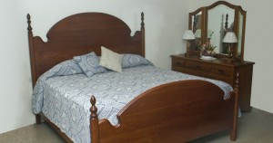 George's Furniture - Cathedral Bed Suite