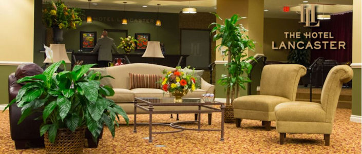 Hotel lancaster hotels for Country living inn lancaster