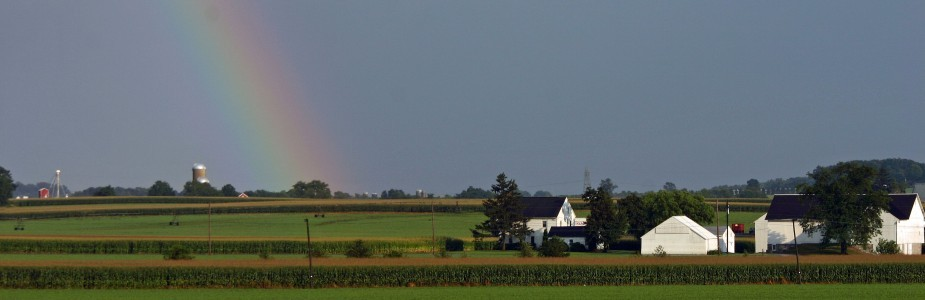 Rainbow over Lancaster County
