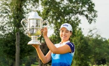 Chun U.S. Women's Open trophy