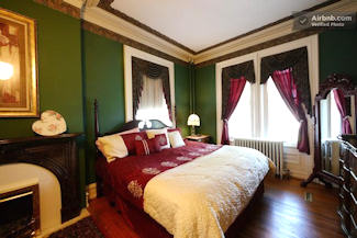 Greystone Manor guest room