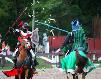 PA Renaissance Faire - Jousting