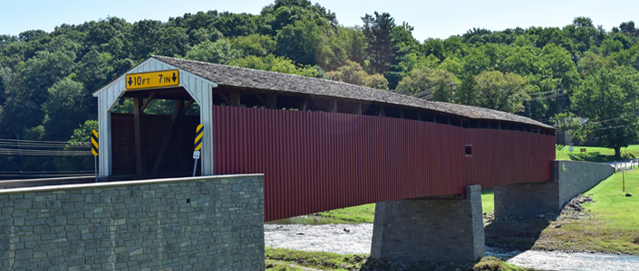 Pine Grove Covered Bridge Oxford Lancaster County