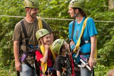 Refreshing Mountain Family Zipline