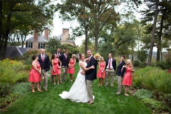 Drumore Estate Wedding Party