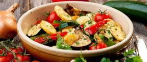 Mediterranean Vegetable Salad Recipe – Kitchen Kettle Village