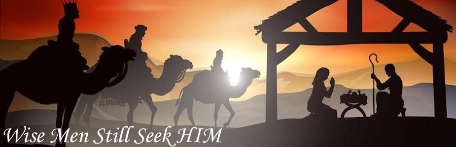 Wiseman and Christ Nativity