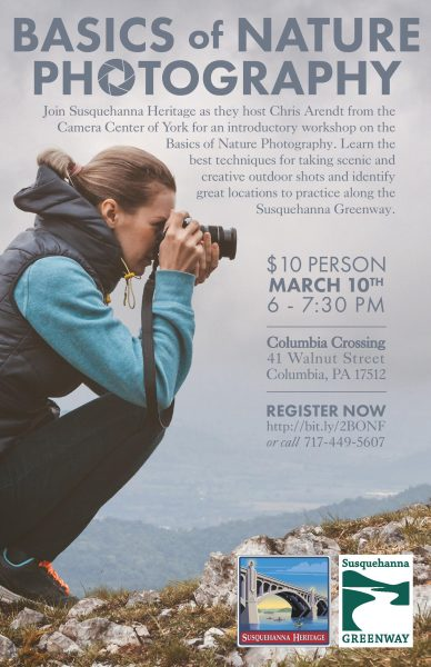 EVENT: Basics of Nature Photography | Events | LancasterPA com