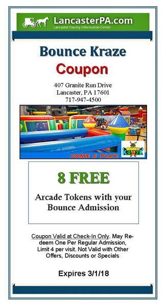 Bounce Kraze Coupon 2018