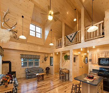 Cozy Cabins Interior