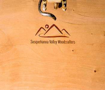 Susquehanna Valley Woodcrafters Engraved Logo