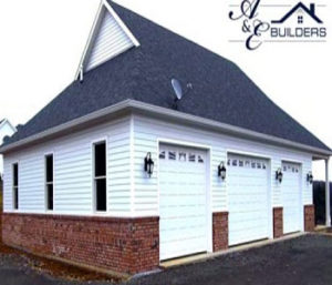 A & E Builders Custom Garage