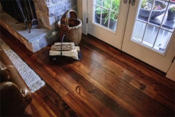 Sylvan Brandt Antiques Loft flooring