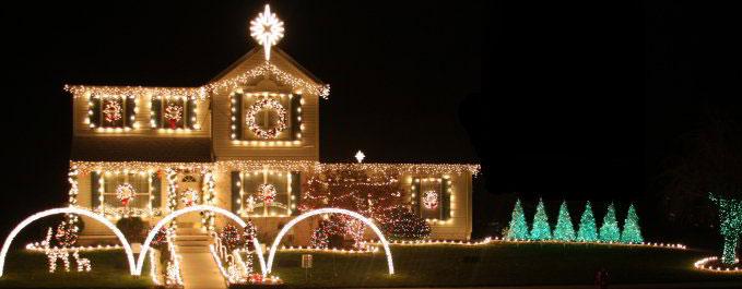 Boucher Family Light Show