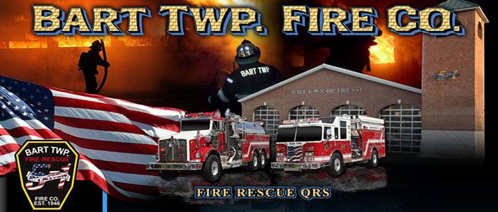 Bart Twp. Fire Company Feature