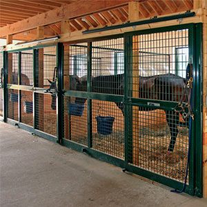 Horse Stall Doors - J & E Grill Manufacturing