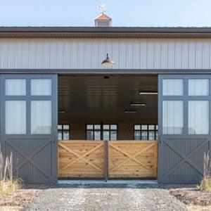 Sliding Barn Doors - J & E Grill Manufacturing