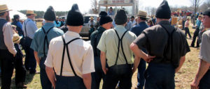Becoming Amish - Men at Auction