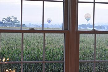 Rural View Amish Country Amish farmlands view