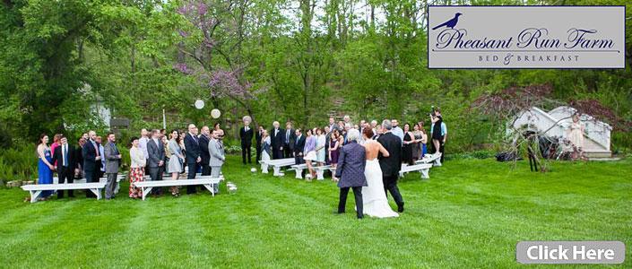 Pheasant Run Farm Outdoor Weddings